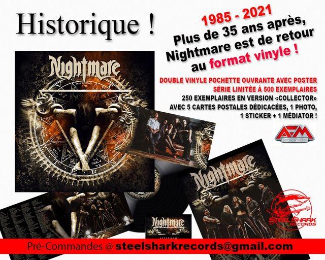 vinyles NIGHTMARE